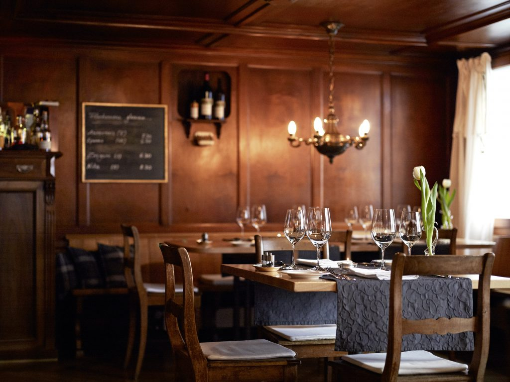 The dining room from Boutique-Hotel Schlussel